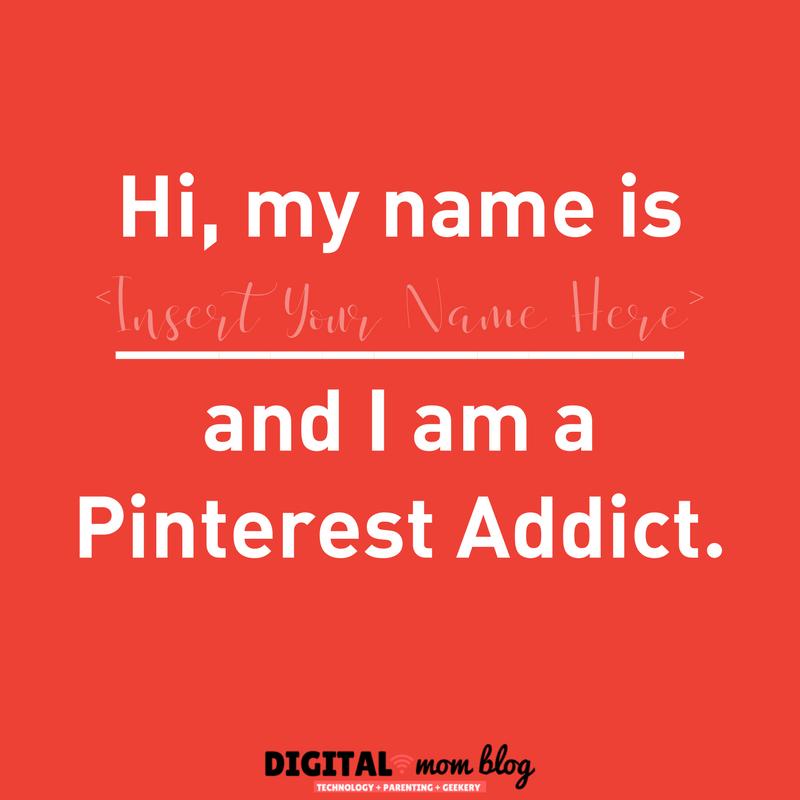 Hi I am a Pinterest Addict
