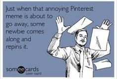 Pinterest Memes Got Me...