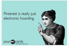 Electronic Hoarding