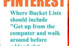 Pinterest Bucket List