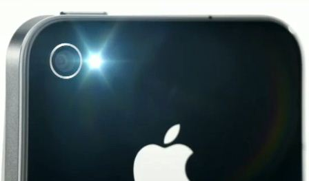 iPhone 4G Camera, Zoom, Flash