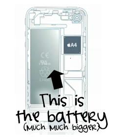 iPhone 4G Battery Won't Suck