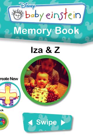 My Baby Einstein iPhone App – Memory Book Feature