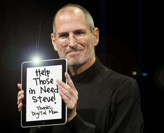 iPads for people with disabilities - help them Steve with your technology!