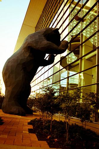 Big Blue Bear in Denver, CO - Denver Convention Center