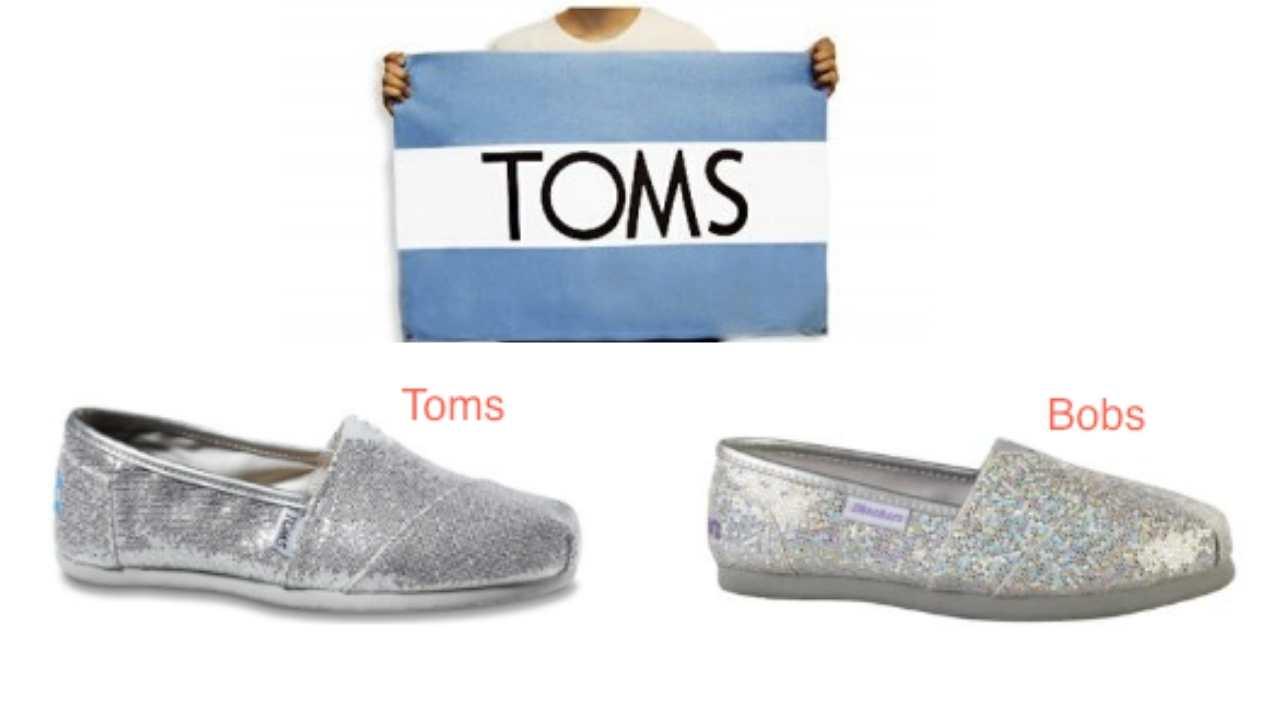 toms shoes vs bobs shoes