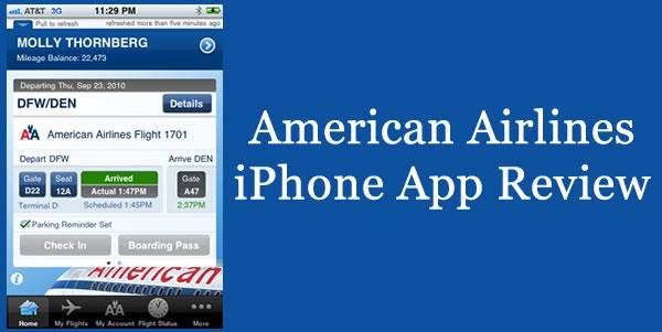 American Airlines Iphone App Digital Mom Blog
