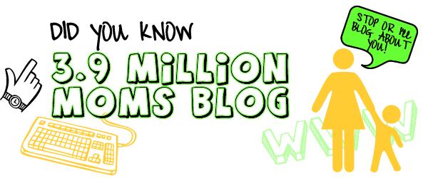 how many moms blog