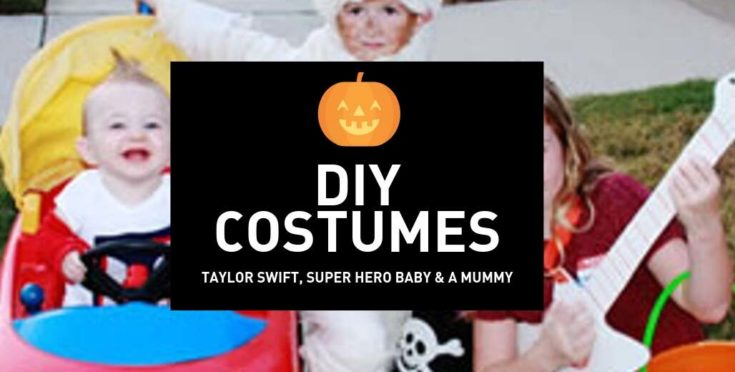 Taylor Swift, Super Baby and Mummy Costume DIY Halloween Costume Ideas for Boys and Girls