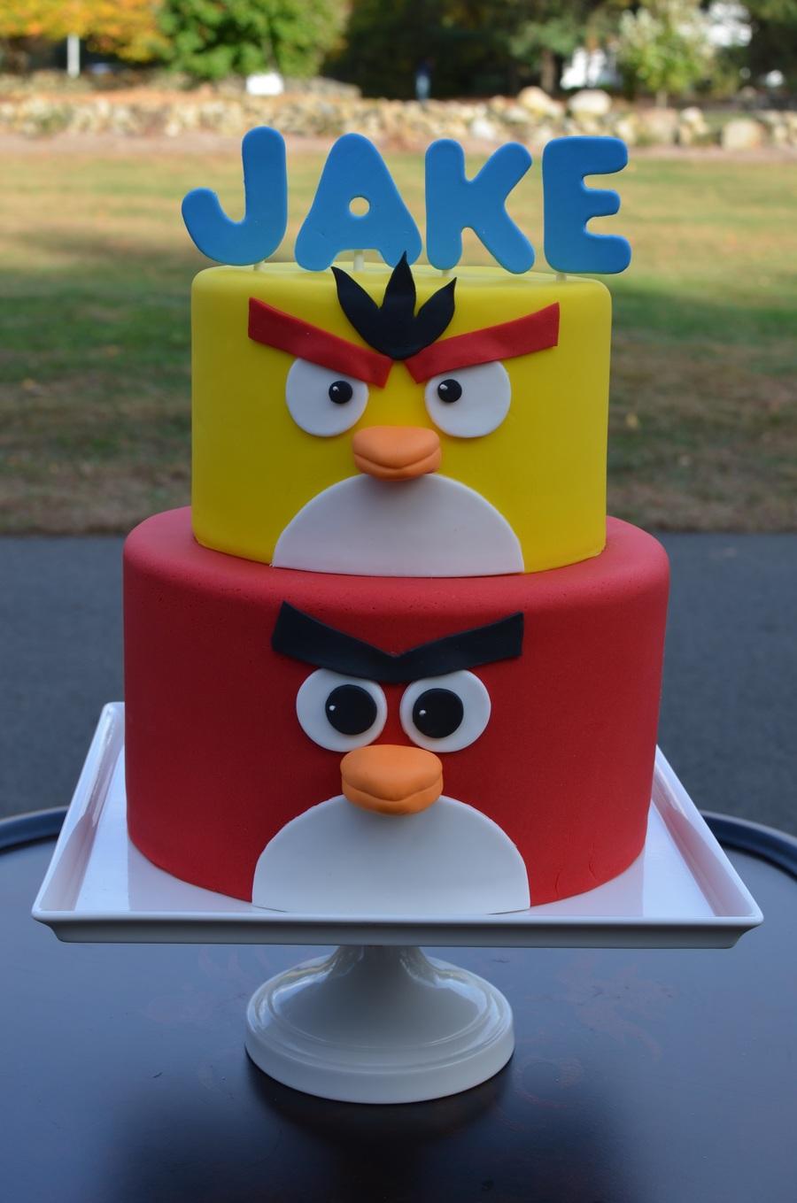 angry birds cakes ideas