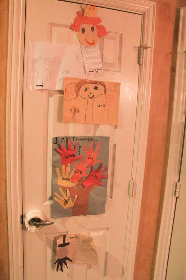 Kid's Art Door