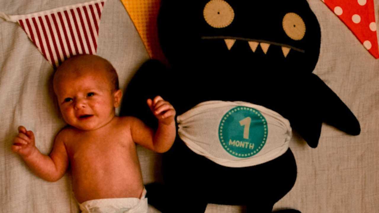 baby zeke 1 month old newborn baby