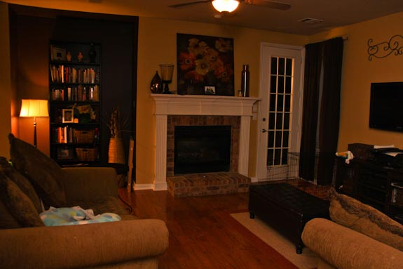 family room redecorate