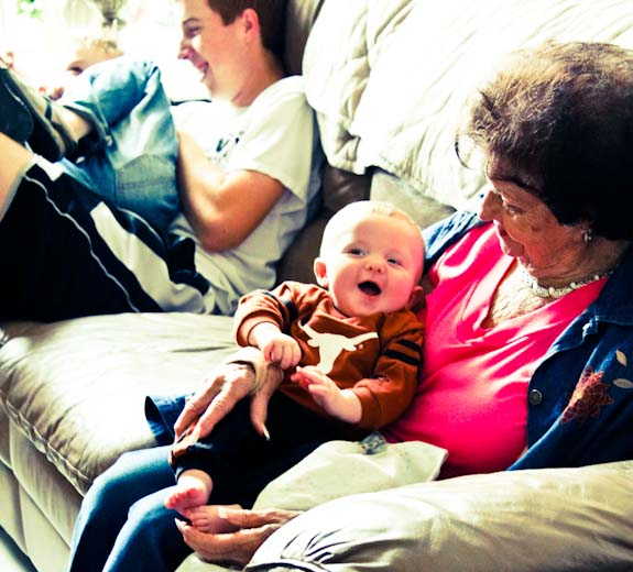 grandma and zeke