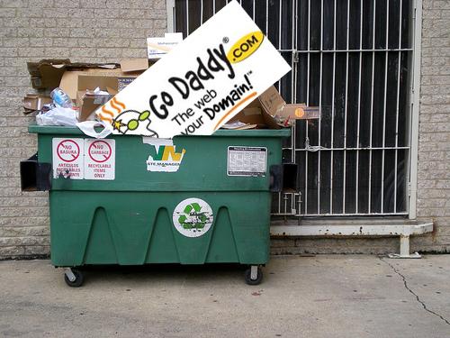 dump GoDaddy.com Day