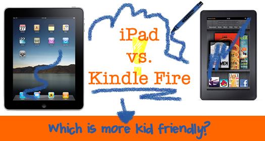 Apple Ipad Vs Kindle: Which Tablet Should I Buy My Kids? IPad Vs Kindle Fire