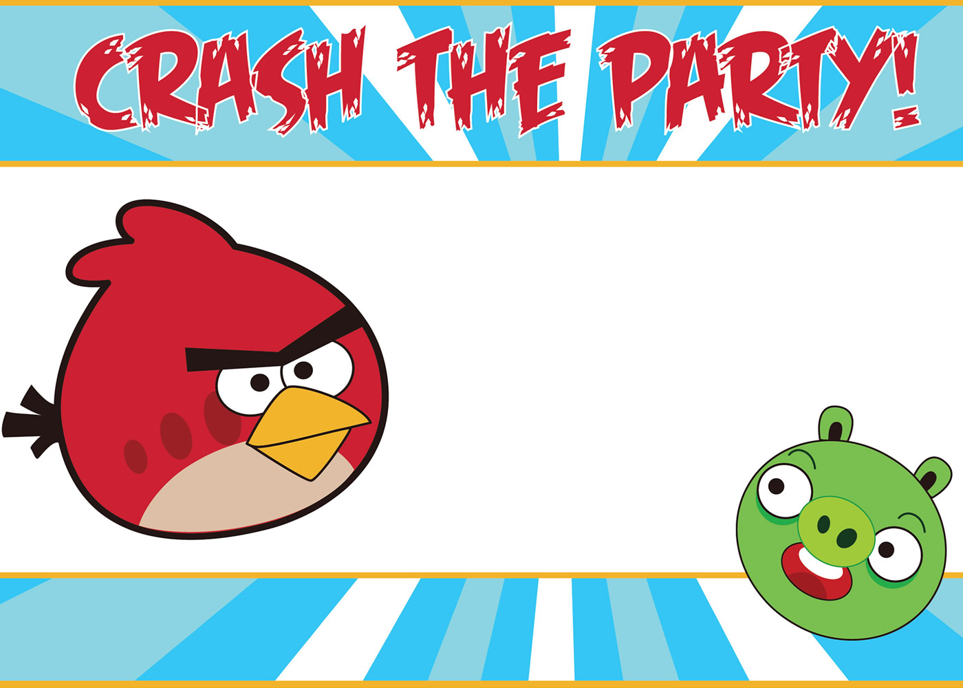 Free angry birds invitations download and customize these adorable download your free angry birds invitations filmwisefo