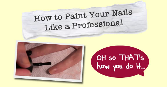 Learn how to paint your nails like a professional for How to learn to paint