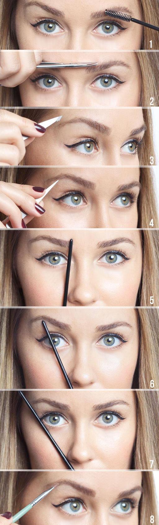 How to Tweeze and Shape Your Eyebrows
