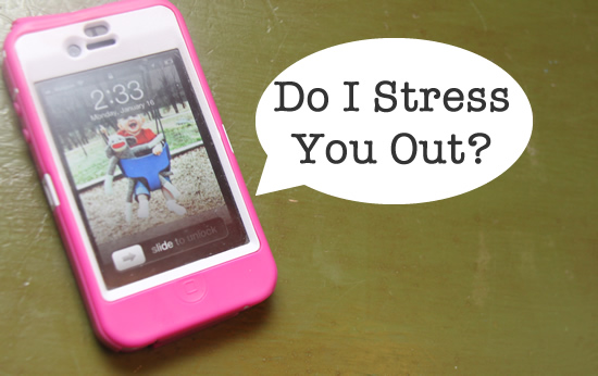 stress and smartphones