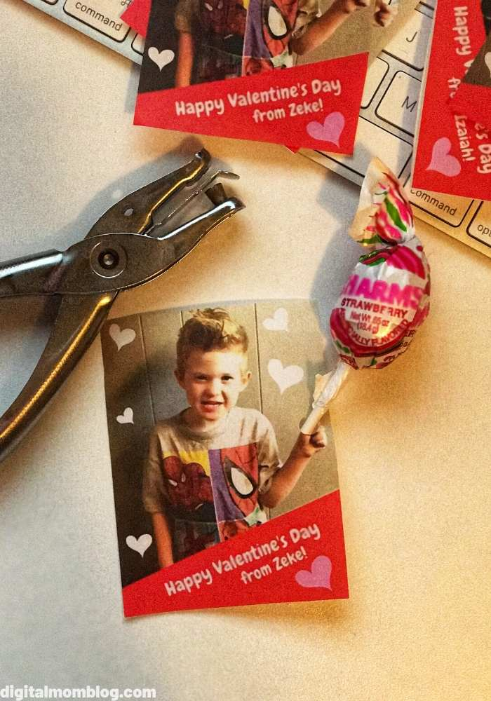diy valentines day photo candy