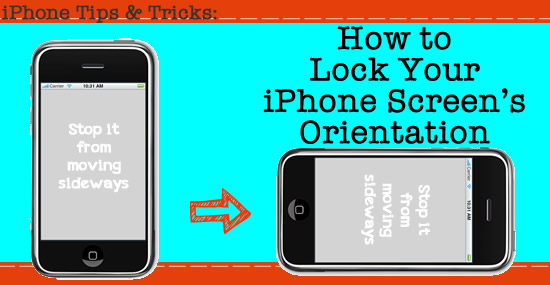 how to change iphone lock screen how to lock your iphone screen from turning sideways 1990