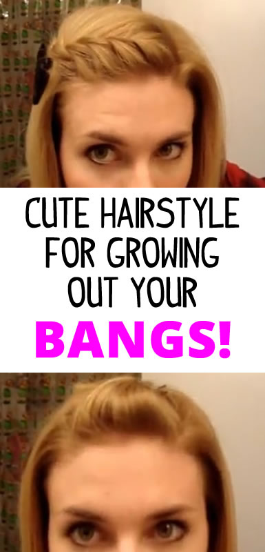 hairstyles for growing out your bangs