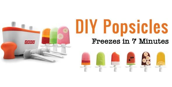zoku ice pop maker
