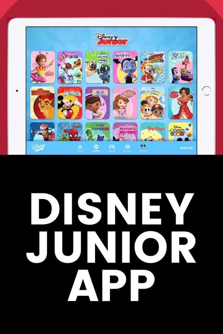 disney junior app for toddlers