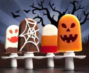 halloween ice pops