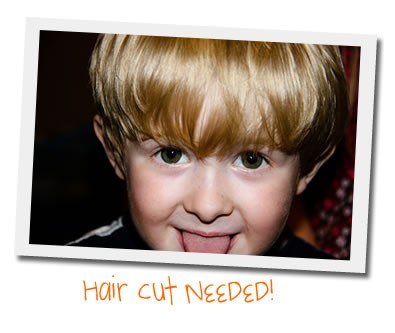 toddler haircut needed