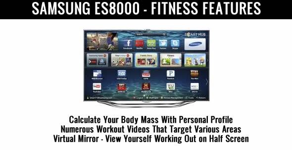 samsung es8000 fitness tv