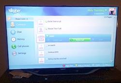 skype on smart tv