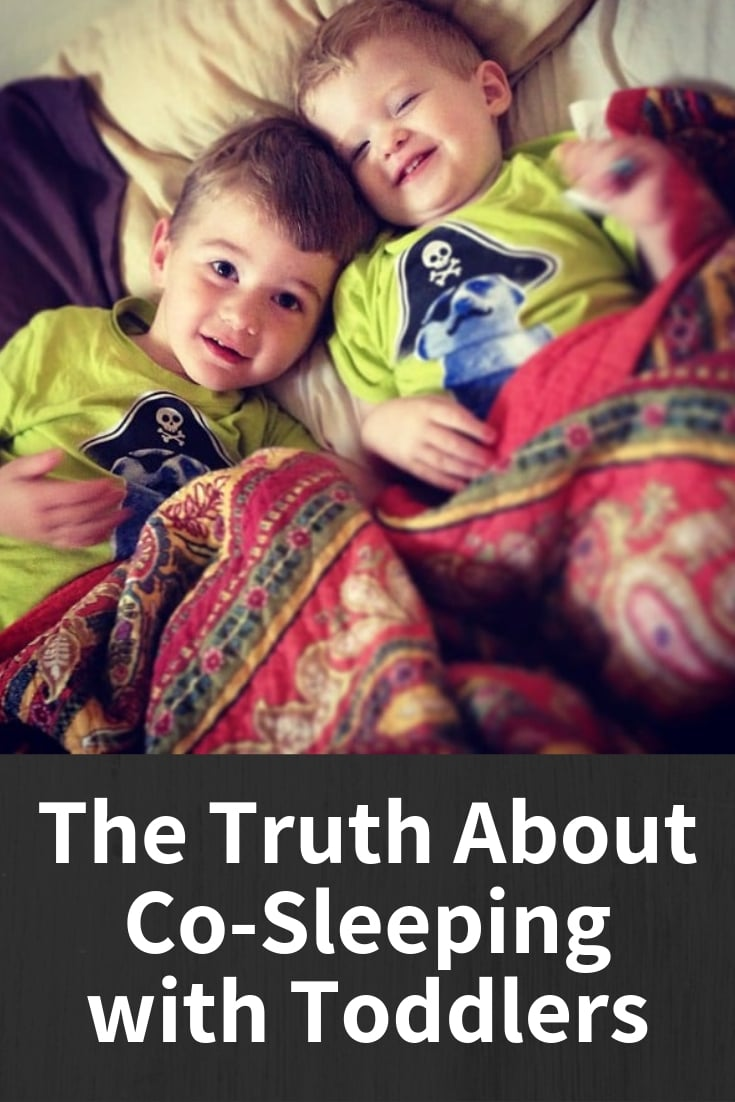 co-sleeping toddlers and a family bed