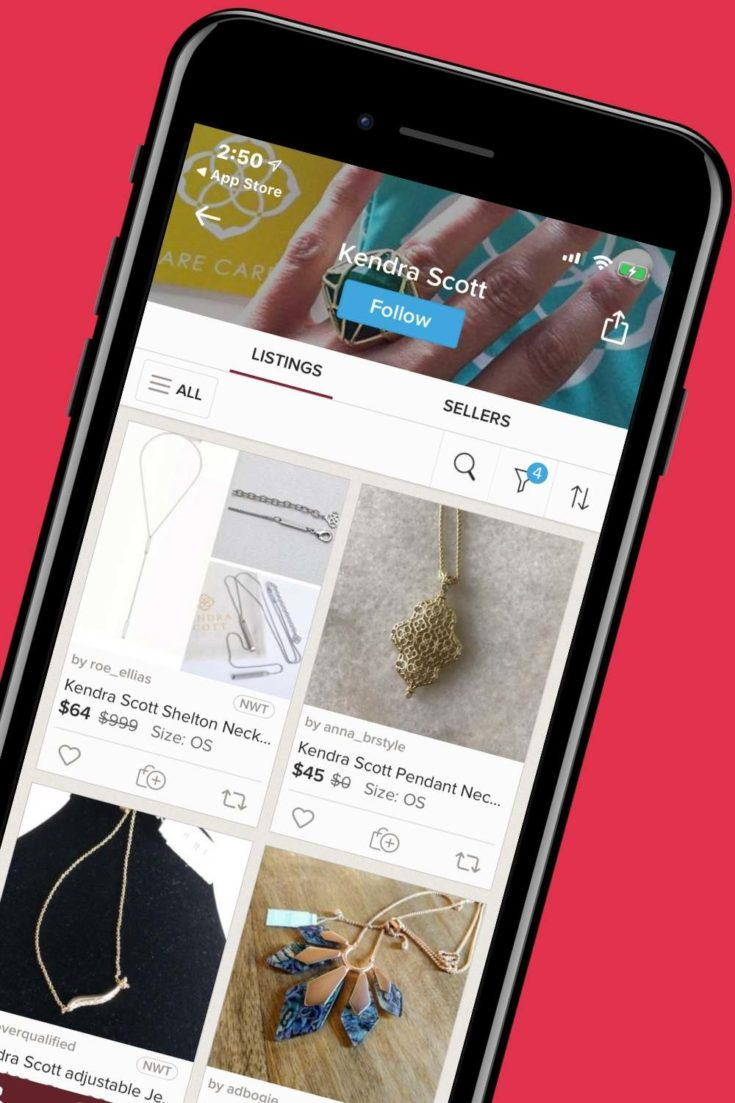 poshmark buy sell app