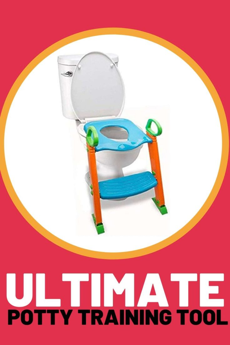potty training tool toilet add on step stool seat