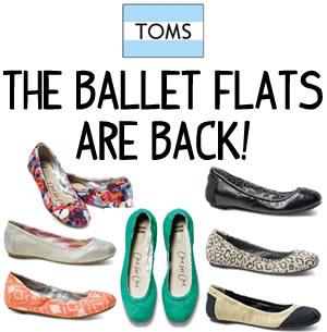 toms ballet flats spring