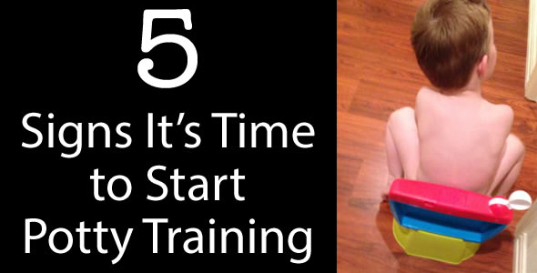 5 signs that it's time to start potty training your toddler
