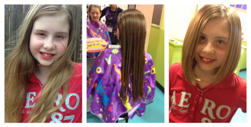 before and after z's haircut