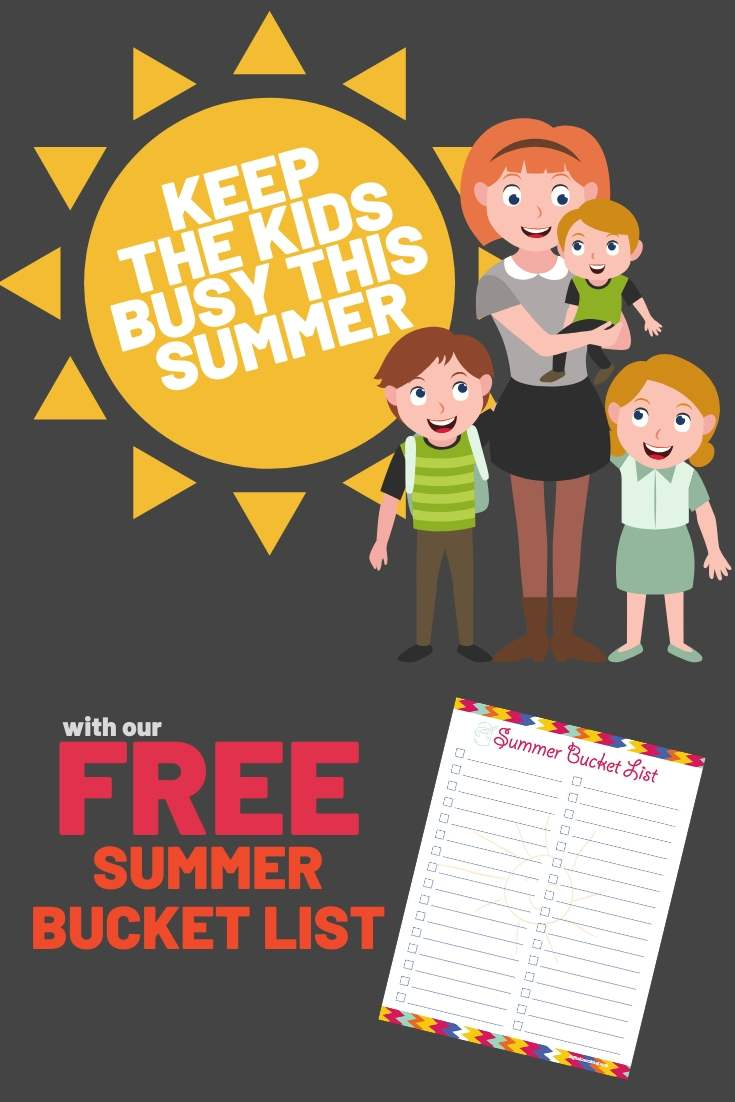 kids summer bucket list pdf