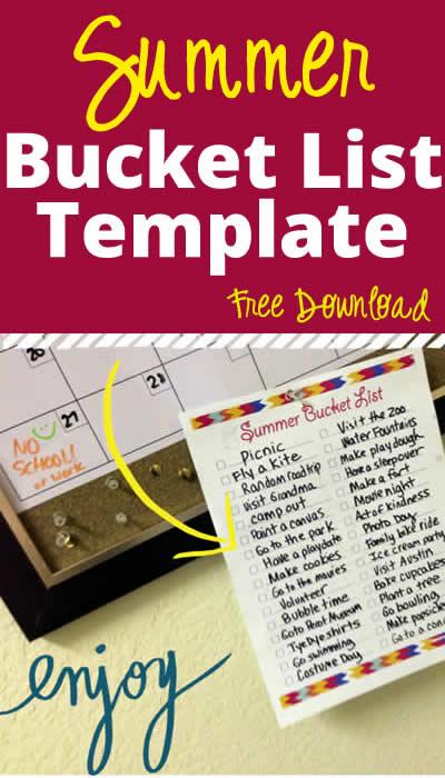 free summer bucket list printable from digital mom blog