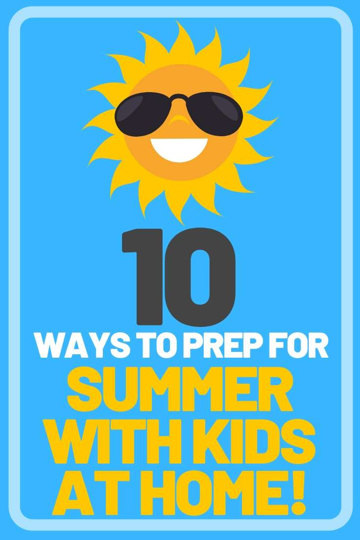 summer with kids at home