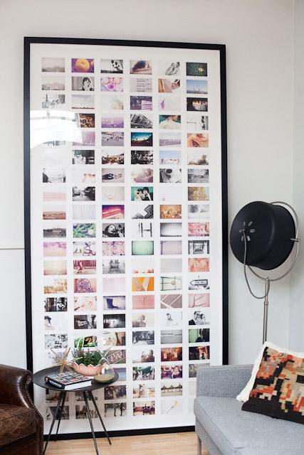 apartment photo wall