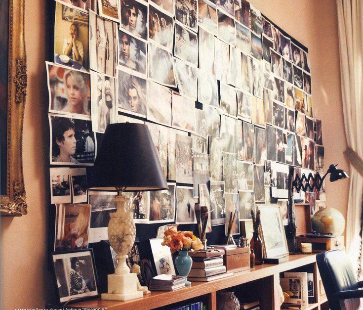 collage wall photos