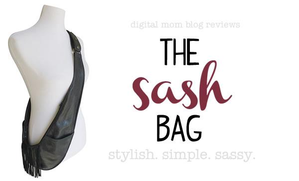 Introducing the Sash Bag