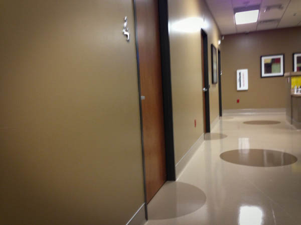 waiting in the emergency room