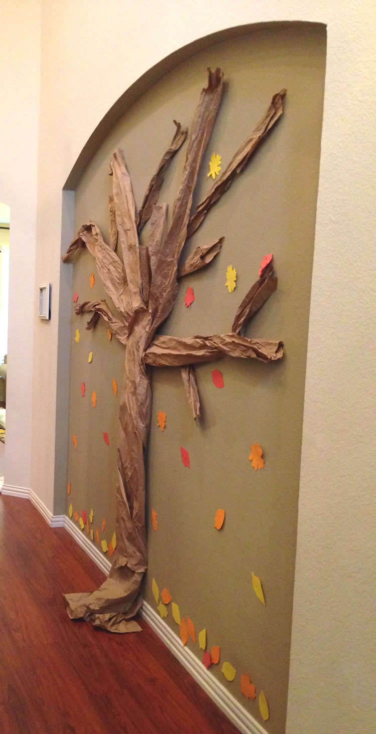 Gratitude Tree Craft for Thanksgiving