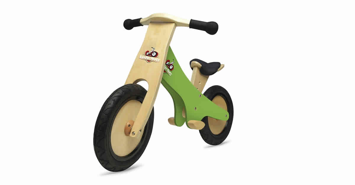 Toddler Bikes - Kinder Feet Balance Bike wooden
