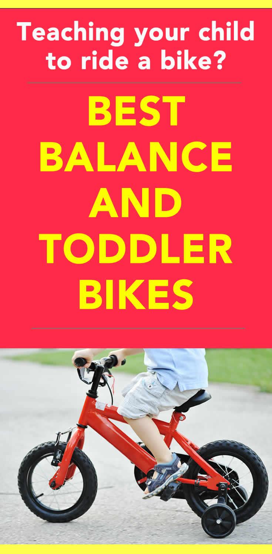 toddler bikes and balance bikes
