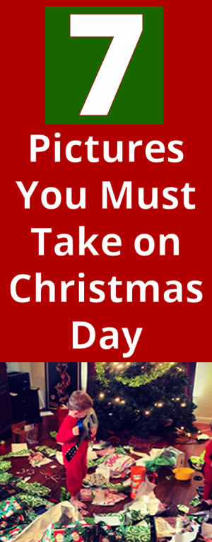 Photos to take on Christmas morning